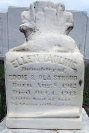Ellen Pauline Stroud (1912-1913) - Find A Grave Memorial
