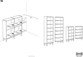 ikea stockholm bookcase 28x87 assembly instruction free