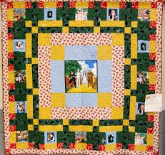 wizard of oz quilt | Quilt Made From Wizard of Oz Fabric ... & wizard of oz quilt | Quilt Made From Wizard of Oz Fabric Adamdwight.com