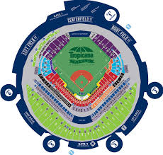 Tropicana Field Seating Chart Wheres My Seat Flickr