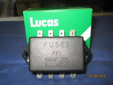 buy mg mgb fuses & fuse boxes ebay mgb fuse box diagram mg mgb mgc roadster or gt lucas 4 fuse fuse box and lid 37h 4727 f2a