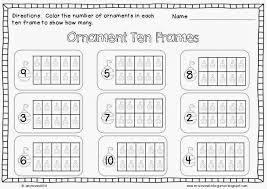 Ten Frame Worksheets Kindergarten Worksheet Adcedu Make A Images ...