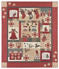 The Night Before Christmas BOM - by Bunny Hill ... & The Night Before Christmas BOM - by Bunny Hill Designs - quilt and  patchwork patterns Adamdwight.com