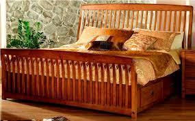 Mission Style Bedroom Furniture Black Sets Ada Within Bed Frame ...