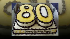 80th Birthday Cake Ideas Cake Decoration Ideas Youtube