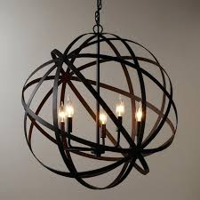 large orb chandelier. Large Orb Chandelier Fantastic Metal Style And Metals Black