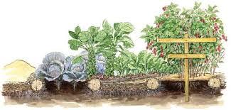 building garden soil wood mulch