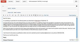 Great How To Write Email With Cover Letter And Resume Attached 66 inside  How To Email