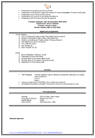 Best Chartered Accountant Cv Page 2 Career Pinterest Resume