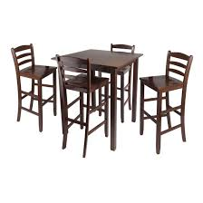 parkland 5pc high table with 29 ladder back stools