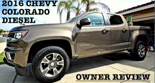 2016 Chevy Colorado Diesel - Owner Review!!! - YouTube
