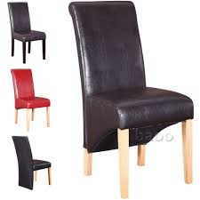 faux leather dining chairs ebay. leather dining room chairs ebay faux