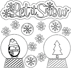 The best free, printable winter coloring pages! Free Printable Winter Coloring Pages Madalenoformaryland