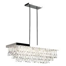 linear crystal chandelier from the bedazzle collection strand z gallerie swarovski