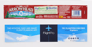 waterbottle labels custom labels for arrowhead water bottles bottleyourbrand