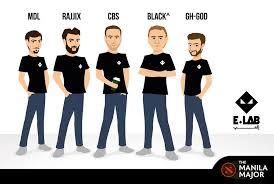 black joining lebanese dota 2 team e lab for the manila major imgur