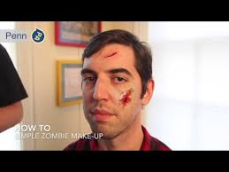 oozing zombie makeup