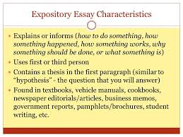 characteristics of an expository essay victoria young director of reading writing and ppt apptiled com unique app finder engine latest