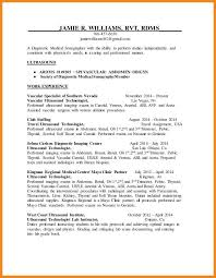 Sonographer Resume Sonographer Resume Art Resume Examples 13