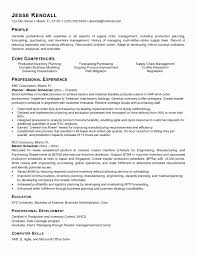 Manufacturing Resume Samples Best Of Scheduler Resume Examples