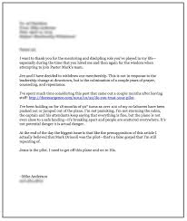 Resignation Letter Church Position Gallery Of Resignation Letter From Church Position Livecareer Church