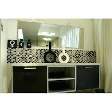 white glass tile crystal glass tile bathroom wall tiles black white glass mosaic tiles kitchen es