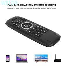 ANDROID Chuột Bay Welco Điều Khiển Từ Xa Cho Tv Box G7Bts, Kết Nối  Bluetooth 5.0 - Bàn phím chơi game