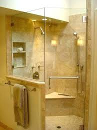 shower kits with seat walk in shower with seat charming shower with seat architecture designs in