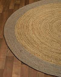 round natural fiber rug jute 8 feet by foot square special ivory 7 ft x area