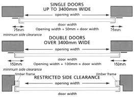 garage door sizeDouble Garage Door Size With Garage Door Springs For Glass Garage