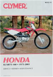 honda xl xr xl xr xl xr clymer color wiring honda xl xr75 xl xr80 xl xr100 1975 1991 honda xl xr75 xl xr80 includes color wiring diagrams