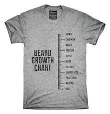Beard Growth Chart Sweatshirt Funny Beard Growth Chart Amish Professor Wizard God Beard T