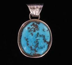 kingman turquoise stone pendant nzzp ts 16