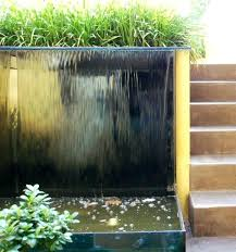 large outdoor wall water fountains pictures wa