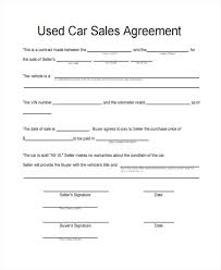 As Is Document For Car Sale Sample Sales Agreement Form Free Documents In Doc Sale For
