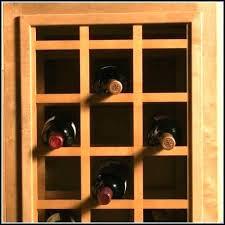 wine racks wine rack in cabinet insert lattice wooden accessory
