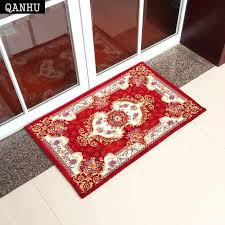 qanhu jacquard hallway rugs and carpets for home living room chenille fabric household soft fl mat