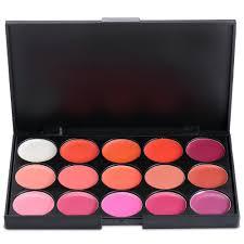 whole charming makeup sets lip gloss lipstick palette cosmetic makeup kit set with free lip brush beauty tools women makeup makeup gift