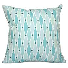 Beach Design Pillows E By Design Beach Vacation Wavy Decorative Pillow Green In