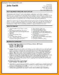Chemical Operator Resume Sewing Machine Operator Resume Sample Chemical Chemicals Example