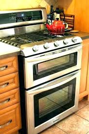 kitchenaid double oven gas range double oven range reviews lg from the brick review throughout gas kitchenaid double oven gas range