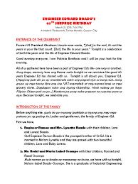 program for 50th birthday celebration program for 50th birthday celebration hola klonec co birthday
