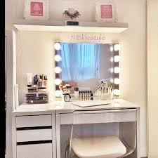 ikea micke white vanity desk chic ikea micke desk white