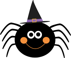 Image result for spider clipart black and white