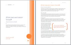 report template for word word document report template