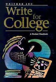 write for college college handbook by patrick sebranek 827299