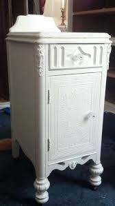 rustic white nightstand. Distressed White Nightstands Lovely French Or Cottage Chic Wood . Rustic Nightstand