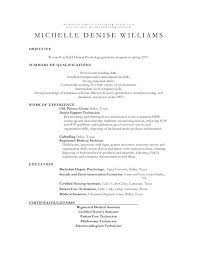 Psychology Sample Resumes School Psychology Resume Wikirian Com