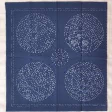 Sashiko Patterns Gorgeous Sashiko Patterns Fabrics A Threaded Needle