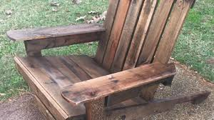 pallet adirondack chair plans. Diy Pallet Adirondack Chair Instructions 125 Awesome Plans N